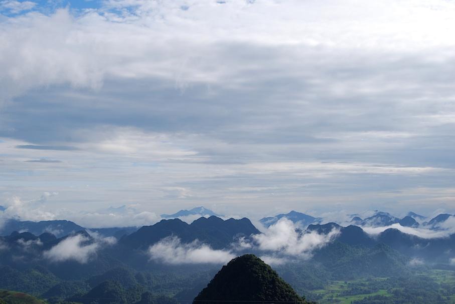 Vietnam_Bergpanorama_Wolken
