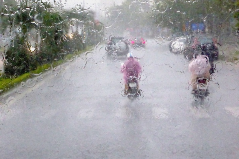 Vietnam im Regen: Allesfließt