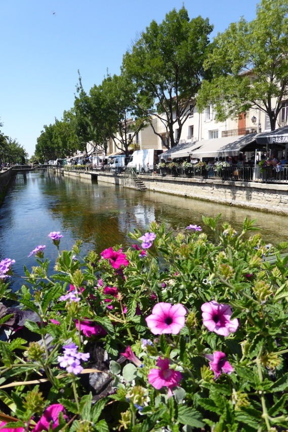 Frankreich_Isle_sur_la_Sorgue_Kanal