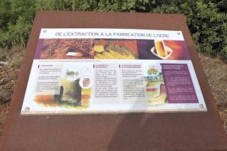 Frankreich_Roussillon_Ocker_Infotafel